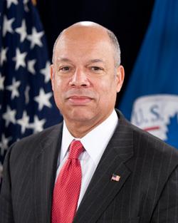 Homeland Security Secretary, Jeh Johnson.