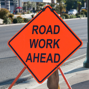 During the work, eastbound traffic on Bradley Avenue will be reduced to one lane.