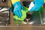 Be careful to choose cleaning products that don't cause environmental residue.
