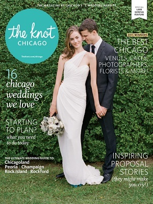 The knot chicago spring summer 2015 cover