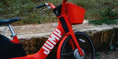 Medium jump  uber bike
