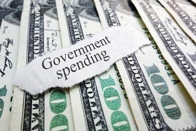 Medium government spending