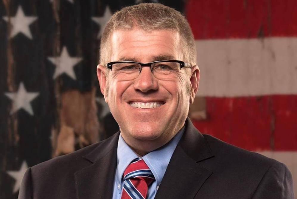 GOP House candidate Darren Bailey