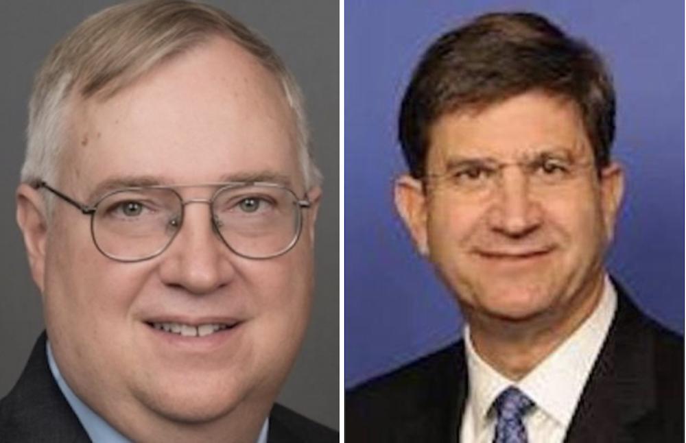Douglas Bennett, left, and Brad Schneider