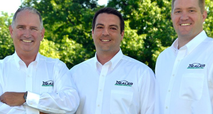 Dealer Simplified founders Kevin Leigh, Dave Kaiser and Phil Gates