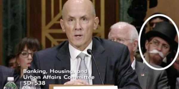 Former Equifax CEO Richard Smith is trolled by the