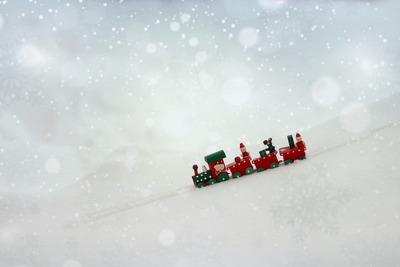 Medium christmas train(1000)