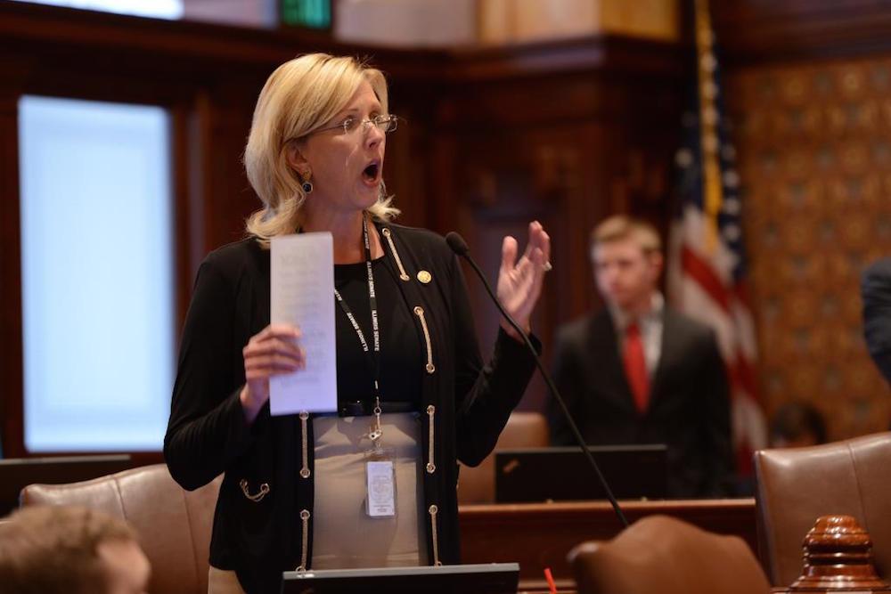 Illinois state Sen. Sue Rezin (R-Morris)