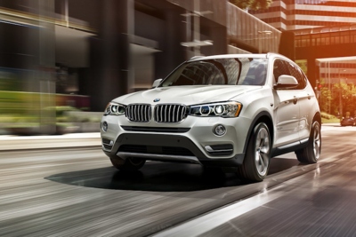 The stature of the BMW X3 makes it a sight to behold.