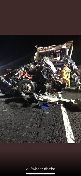 Photo from crash site