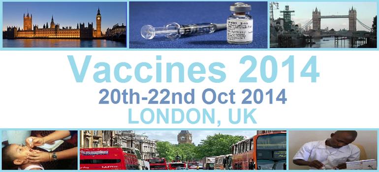 Vaccines 2014 London