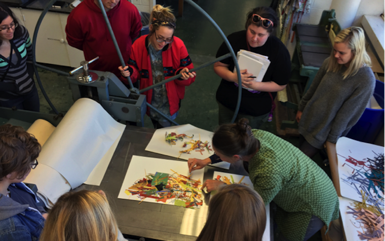 University of Arkansas welcomes printmaker for visiting artist series