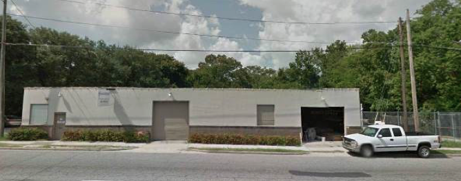 This retail/flex property recently was sold in Charleston.