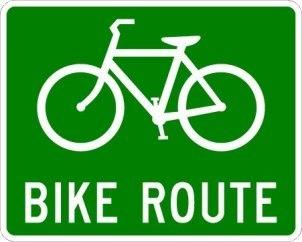 Medium bike route