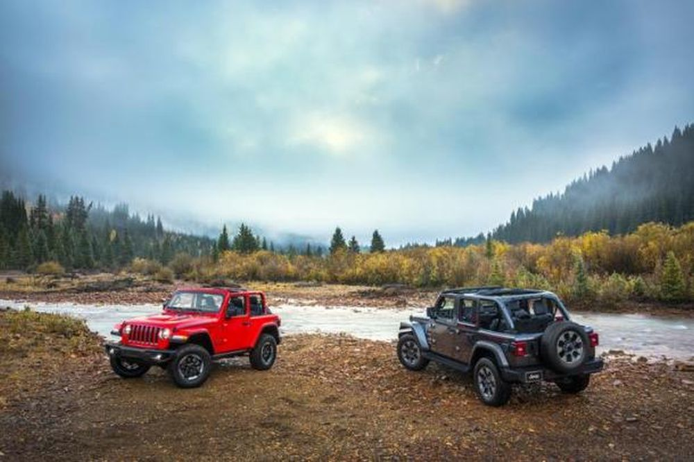 The Jeep Wrangler has been completely revamped for 2018.