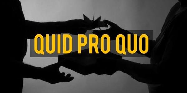 Large quidproquo