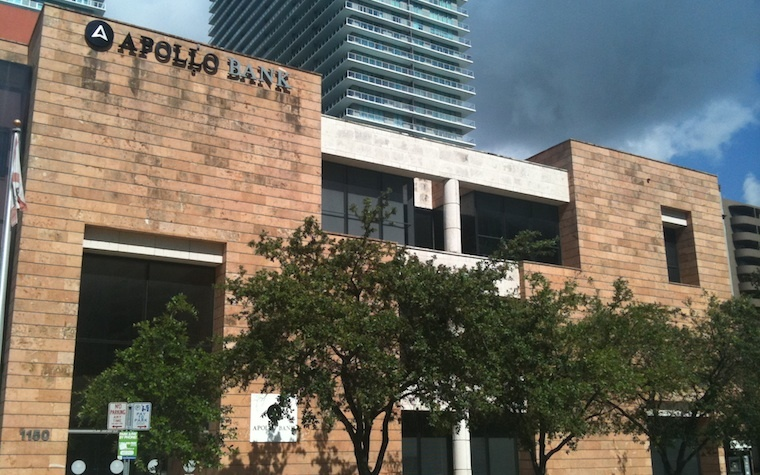 Apollo Bank named preferred lender for Midtown Doral buyers.