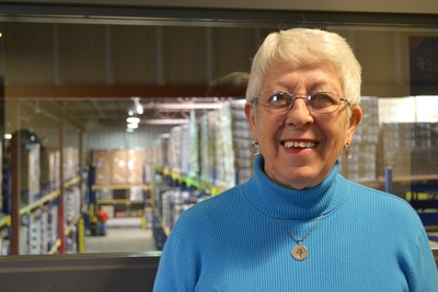 Wanda Mills has been volunteering at the Capital Area Food Bank since 2003.