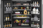 This WiFi adapted refrigerator boasts multiple functions from a smart phone.