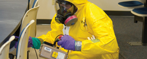 National bioresearch center to hold WMD response course.