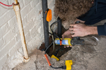 Plumbing is part of a home's critical infrastructure, and should be checked on when purchasing.