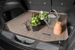 Cargo liners help prevent damage and stains to a vehicle's interior.
