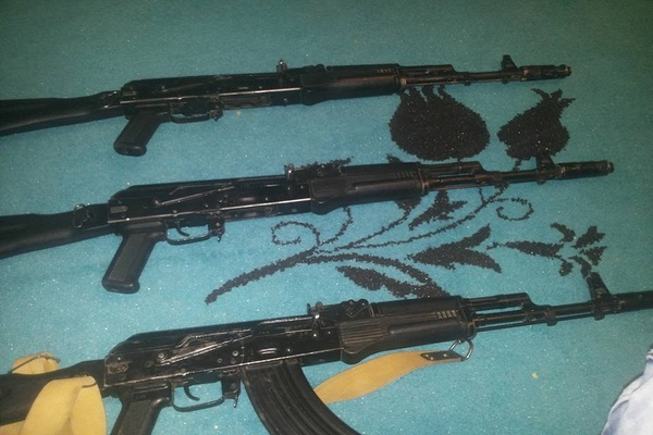 Small arms and light weapons traded via social media in Libya.