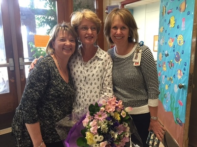 Becky Jurgensen has been selected as School Nurse of the Year and Maryke Benner as School Health Assistant of the Year. Jurgensen is the nurse at The Rosedale School. Benner is the school health assistant at Mills and Baldwin elementary schools.