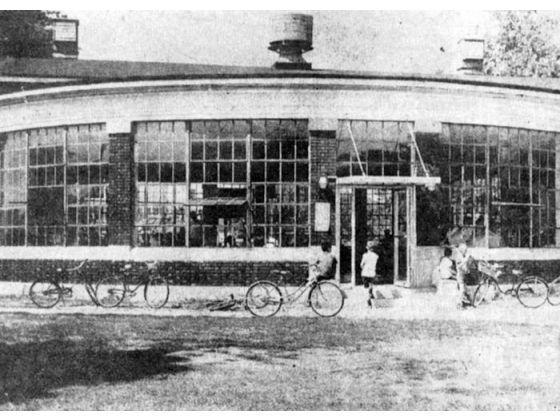 Large roundhouse