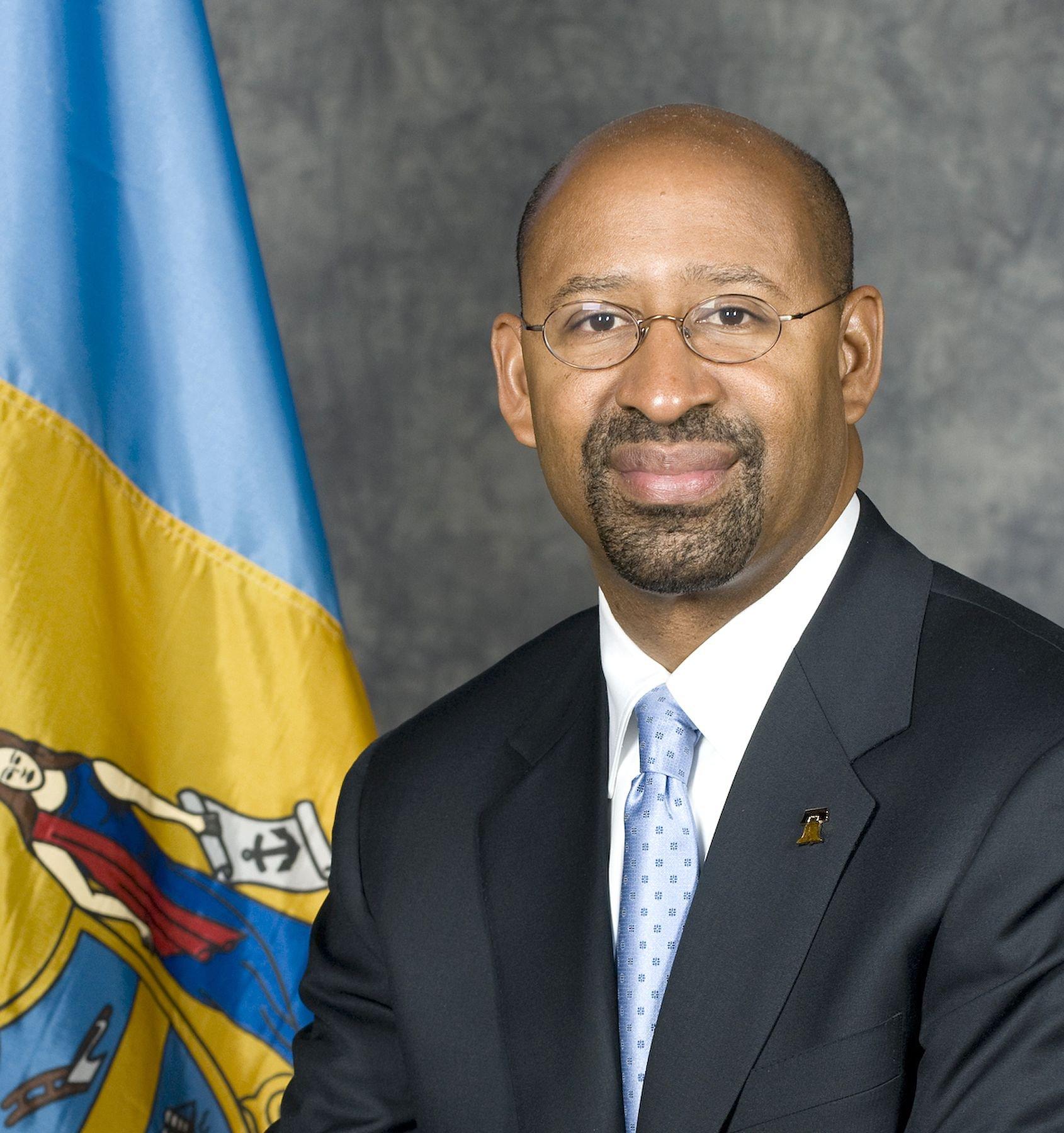 Philadelphia Mayor Michael A. Nutter