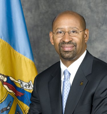Philadelphia Mayor Michael A. Nutter