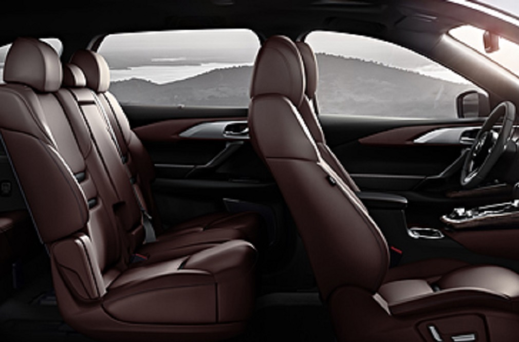 The 2018 Mazda CX-9 offers a spacious interior.