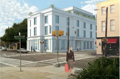 The Grand Bohemian Hotel Charleston is scheduled to open soon.