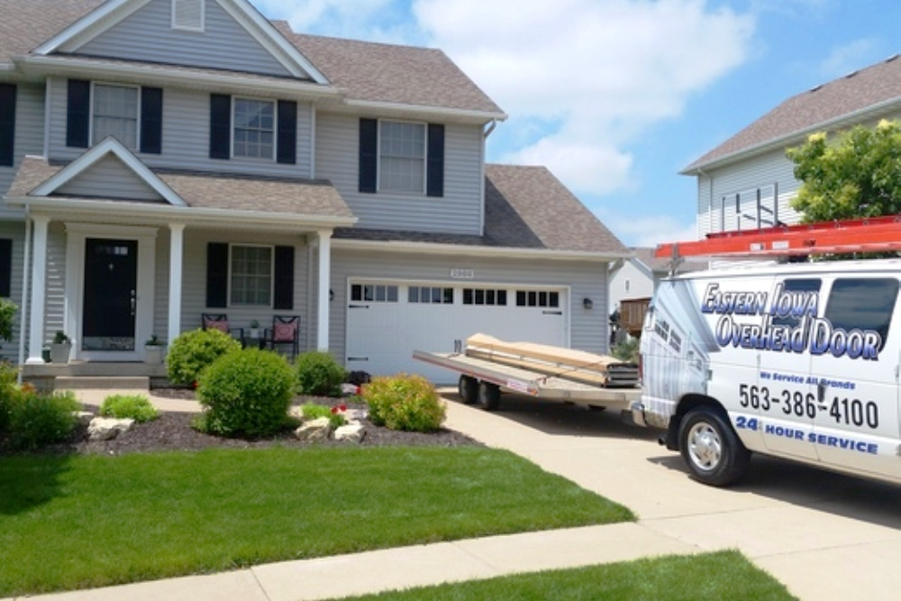 Eastern Iowa Overhead Door Scores With Customer Loyalty