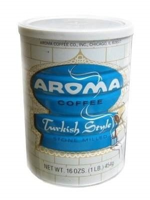 Large aroma coffee turkish style