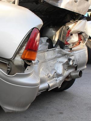 Large caraccident