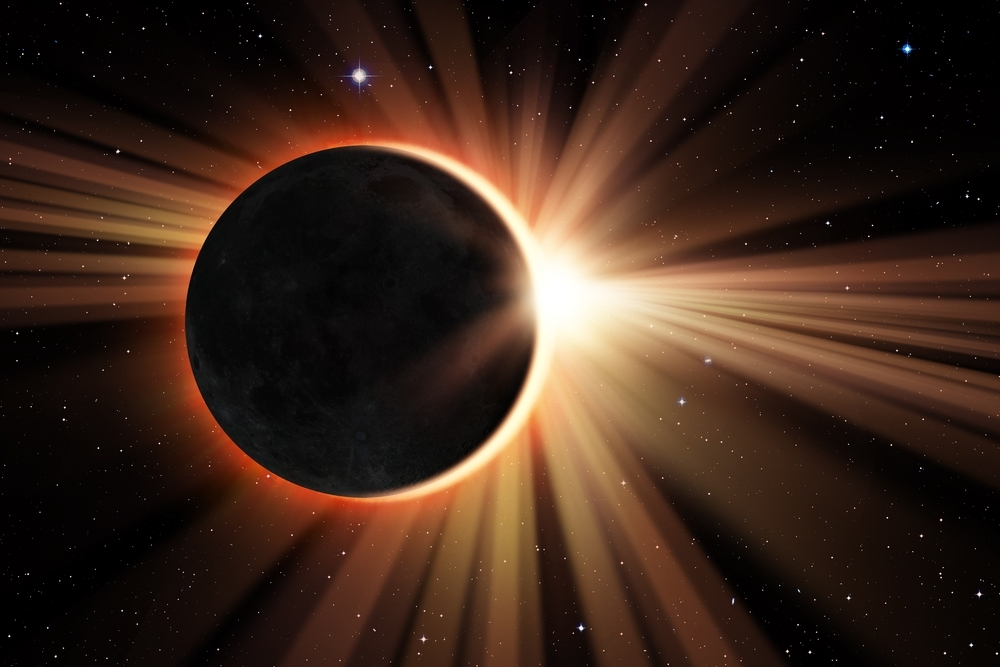 The structure will be launched 80,000 feet into the atmosphere on the day of the eclipse.