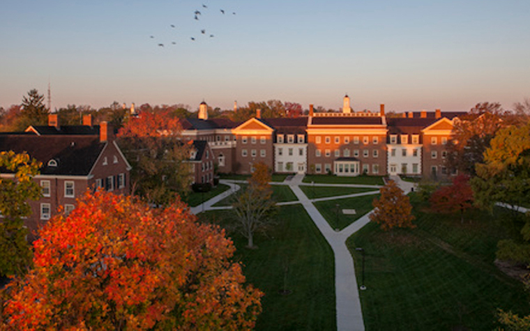 Miami University is listed for professionals as strong in business, architecture and music.