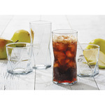 16-Piece Rhombus drinkware set