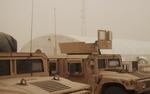 U.S. military vehicles in Iraq