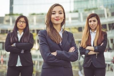 Medium businesswomen