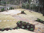 There are a variety of options when it comes to the design and execution of a stone path.