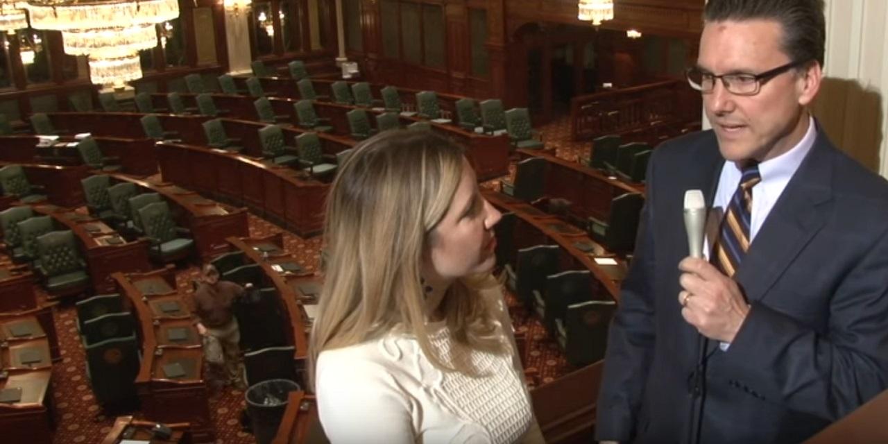 NPR Illinois reporter Amanda Vinicky and Matt Dietrich, host of Reboot Illinois'