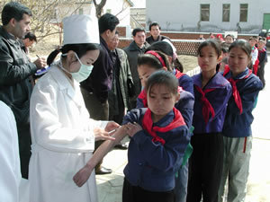 WHO helps North Korea battle measles outbreak