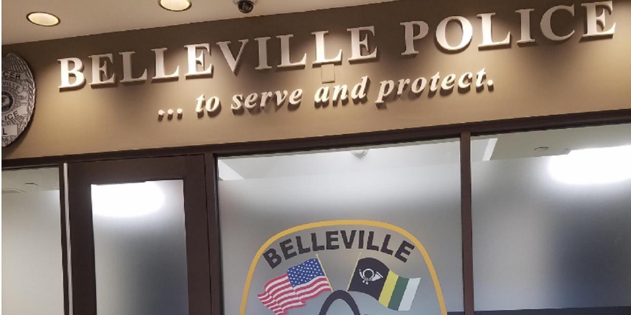 Entrance of Belleville Police Department