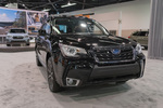 A Subaru Forester on display at the Orange County International Auto Show on Sept. 28, 2017.