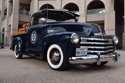 Capitol Chevrolet Austin >> Lieutenant governor bursts with Texas pride in custom restored '52 Chevy truck | Austin Cars