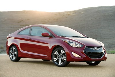 A 2014 used Hyundai Elantra Coupe would include the Hyundai's certified pre-owned program (CPO) power-train warranty.