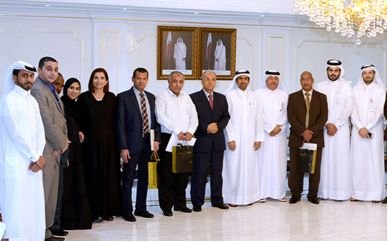 Qatar Chamber shows appreciation to departing employees