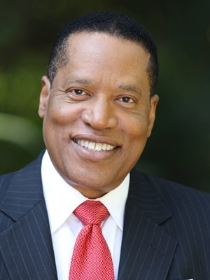 Larry Elder, author and conservative talk show host